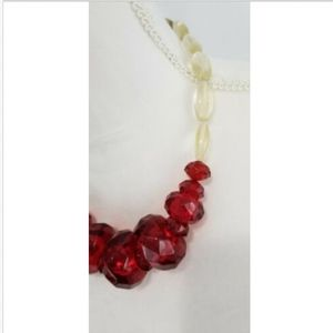 Coldwater Creek Jewelry - Coldwater Creek Beaded Chunky Statement Necklace